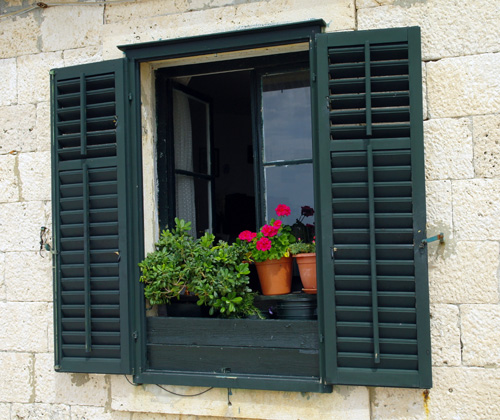 Dubrovnik window box