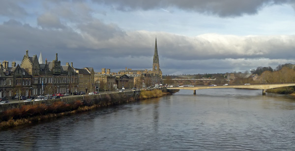 Perth and the River Tay