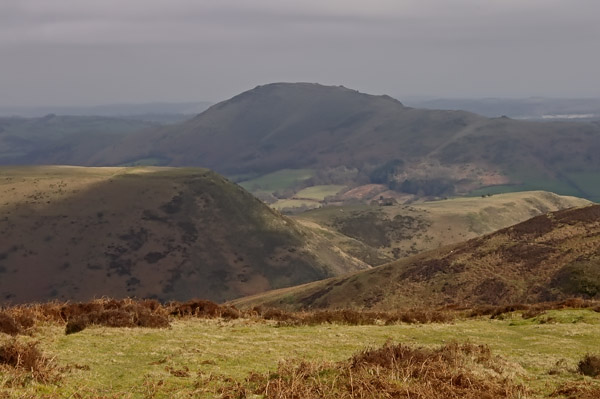England: on the eve of SpringEngland: on the eve of Spring. View from the Long Mynd, Shropshire