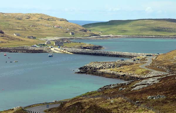 Barra - the causeway to Vatersay