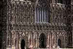 Lichfield Cathedral Frontage