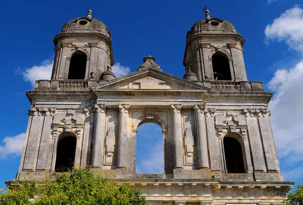 Portico of St Jean D'Angely Church