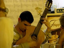 Valencia: Flamenco Guitarist