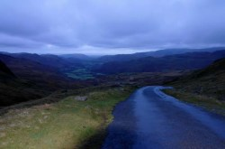 Hardknock Pass - steepest road in England