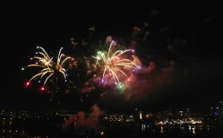 Fireworks 15th Feb Perth