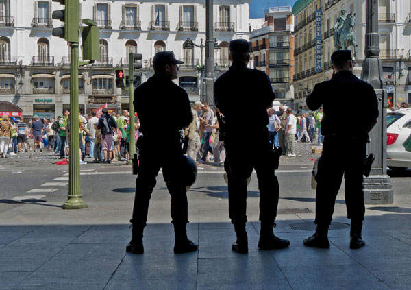 Madrid Austerity Protests - May 3013