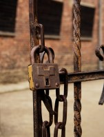 Auschwitz - Lock at courtyard No 11
