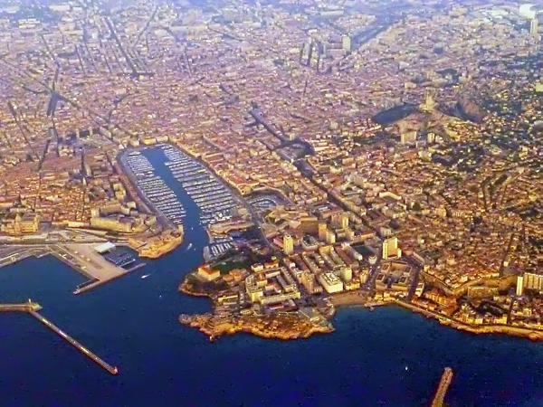 Marseille from the air