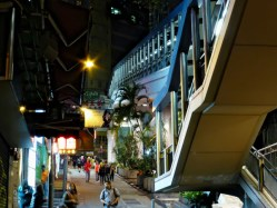 Hong Kong - street scenes & Escalator
