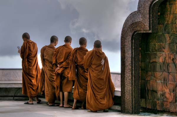 Doi Inthanon - Monks