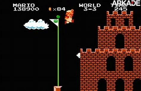 Vídeo: Super Mario consegue pular a bandeira