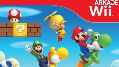 Novo vídeo e capa do New Super Mario Bros para Wii
