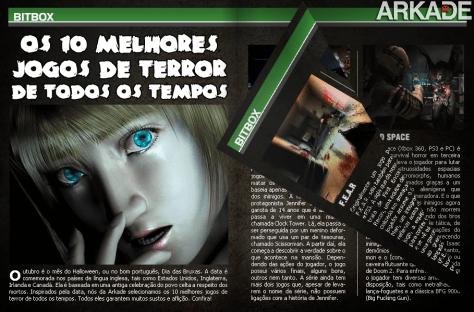 Halloween Arkade: 5 excelentes jogos de terror