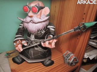 Incríveis papercrafts de World of Warcraft