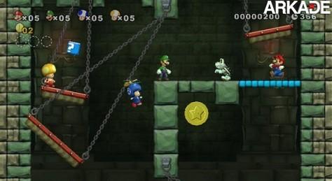 Vídeo Review Arkade - New Super Mario Bros. Wii