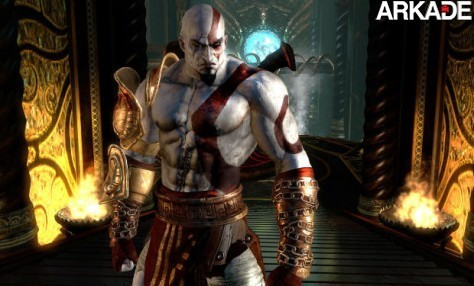 Sony divulga novas screenshots de God of War III