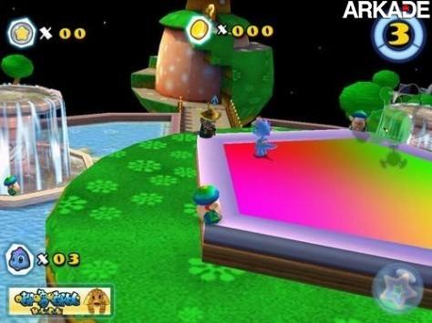 Jogo chinês copia descaradamente Super Mario Galaxy