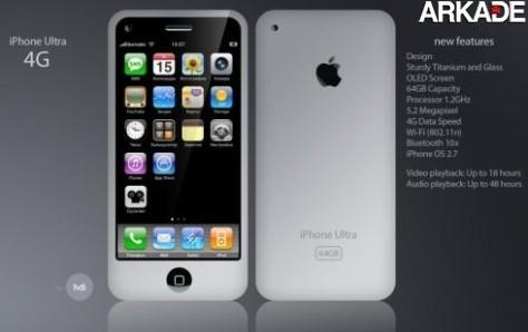 Vem aí o iPhone 4.0!
