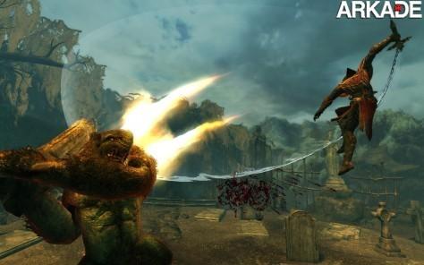 Os impressionantes gráficos do novo jogo da série Castlevania