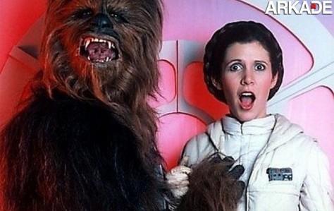Fotos raras dos bastidores da saga Star Wars