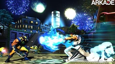 Confira novas imagens de Marvel vs. Capcom 3