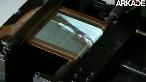 Tela de OLED flexível da Sony é mais fina que um fio de cabelo