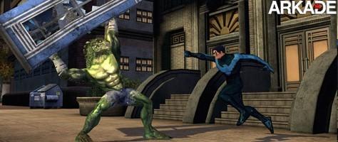 MMO DC Universe Online chega às lojas em Novembro