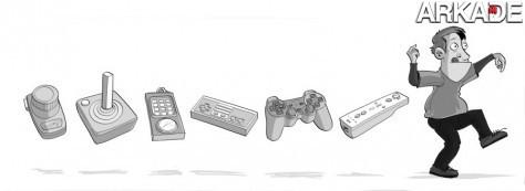 A verdadeira evolução dos controllers dos videogames