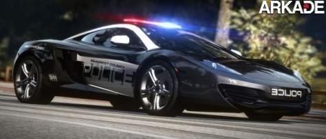 GamesCom - Need for Speed: Hot Pursuit ganha novos trailers