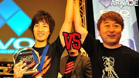 A batalha do século: Daigo Umehara vs. produtor de SFIV
