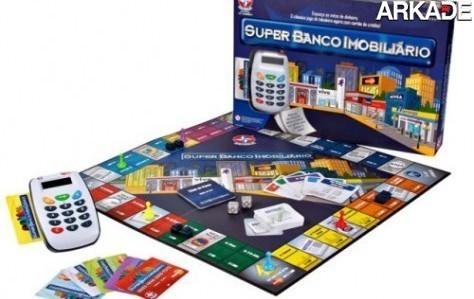 Novo Banco Imobiliário troca dinheiro por cartão de débito!