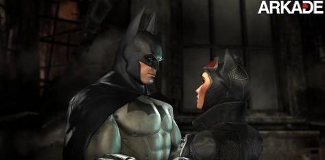 Comparação gráfica entre Batman: Arkham Asylum e Arkham City