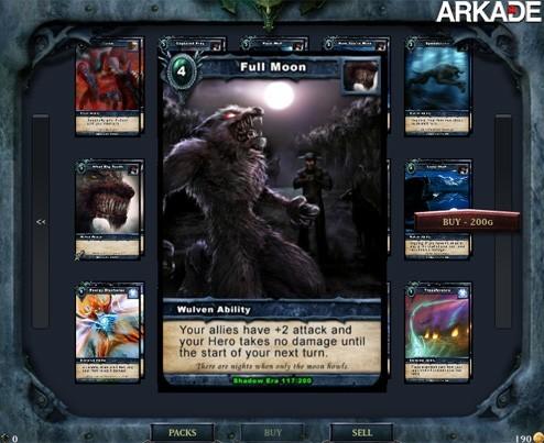 Conheça Shadow Era, um game de cartas simples e totalmente gratuito