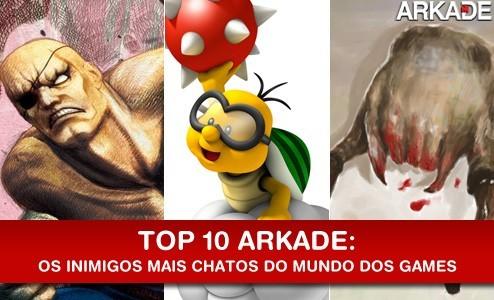Top 10 Inimigos mais chatos e irritantes do mundo dos games