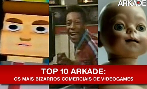 Top 10: Os mais bizarros comerciais de videogame de todos os tempos