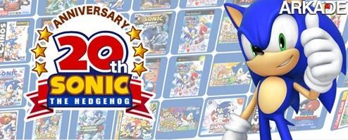 Sonic Generations: Sega anuncia game de 20 anos de seu mascote