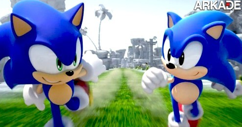 Sonic Generations: confira o gameplay do novo game do ouriço