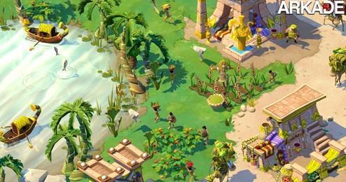 Age of Empires Online: estratégia online com belo visual cartoon