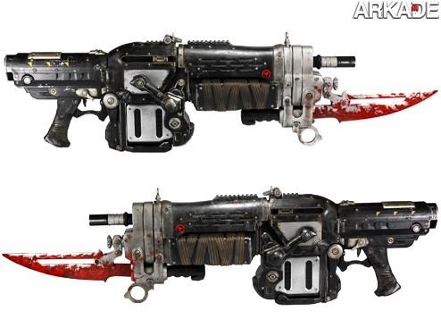 Já pensou em ter a sua própria Retro Lancer igual a de Gears of War?