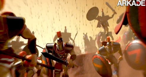 Age of Empires Online: Gregos invadem o Egito em trailer CG do game