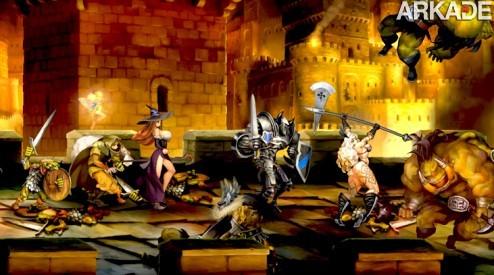 Dragon's Crown: um belo hack n' slash 2D com cara de pintura