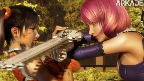 Tekken Hybrid: um pack 3 em 1 com jogo, filme e demo em um só disco