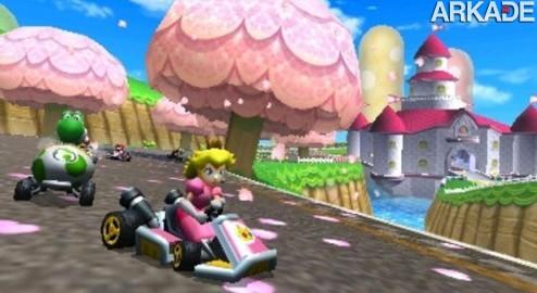 Mario Kart 7: água, ar e terra farão parte das corridas do novo game
