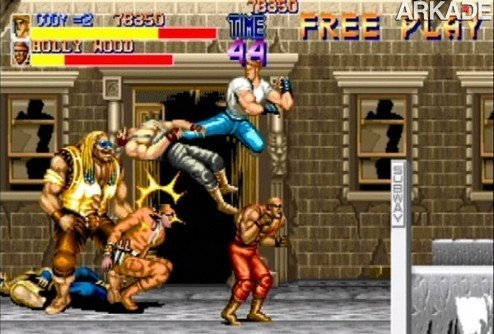 Classicos: Final Fight (arcade) - o pai da pancadaria beat 'em up