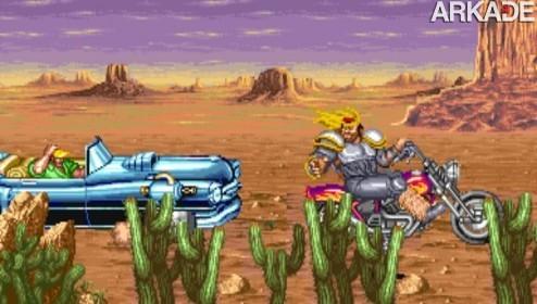Cadillacs & Dinosaurs (arcade): um clássico da porrada tipo beat 'em up