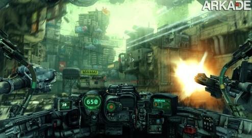 Hawken: combate de mechs vai rolar nos games e nos cinemas