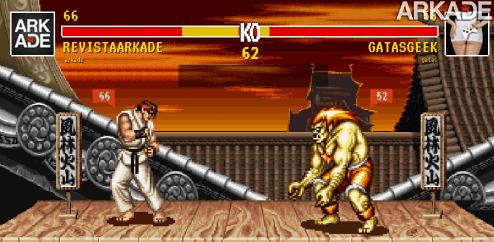 Tweet Fighter II: uma luta de twittadas no melhor estilo Street Fighter