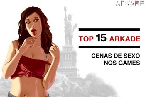 Top 15 Arkade - Cenas de sexo no mundo dos videogames #diadosexo