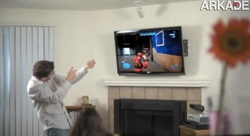 Trailer vazado mostra a integração do remake de Halo: CE com o Kinect
