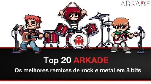 Top 20 Arkade - Os melhores remixes de rock e metal em 8 bits